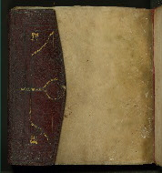 W.556, Folio 1a flap closed